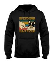 BEST BOSTON TERRIER DAD EVER Hooded Sweatshirt thumbnail