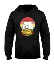 CAT MEME TACOS VINTAGE Hooded Sweatshirt thumbnail