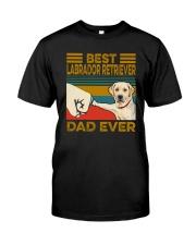 BEST Labrador Retriever DAD EVER Classic T-Shirt front