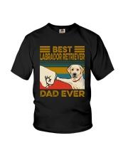BEST Labrador Retriever DAD EVER Youth T-Shirt thumbnail