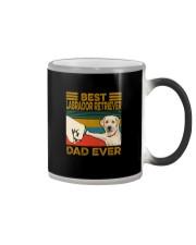BEST Labrador Retriever DAD EVER Color Changing Mug thumbnail