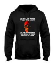 NO ONE DRINKS FROM THE SKULLS Hooded Sweatshirt thumbnail