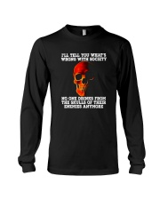 NO ONE DRINKS FROM THE SKULLS Long Sleeve Tee thumbnail