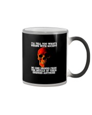 NO ONE DRINKS FROM THE SKULLS Color Changing Mug thumbnail