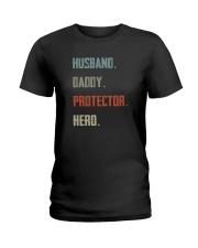 dad hero Ladies T-Shirt thumbnail