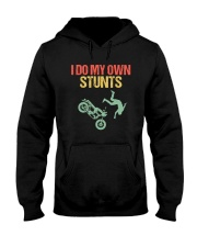 I DO MY OWN STUNTS Hooded Sweatshirt thumbnail