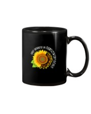 EASILY DISTRACTED BY SUNFLOWERS AND DOGS Mug thumbnail