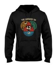 THE ANSWER TO 42 Hooded Sweatshirt thumbnail