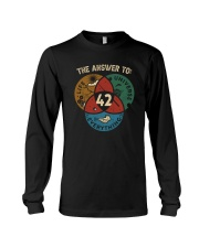 THE ANSWER TO 42 Long Sleeve Tee thumbnail