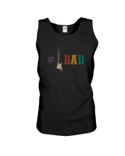 GUITAR DAD Unisex Tank tile