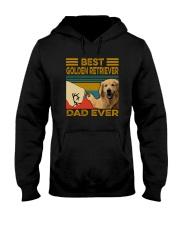 BEST GOLDEN RETRIEVER DAD EVER Hooded Sweatshirt thumbnail