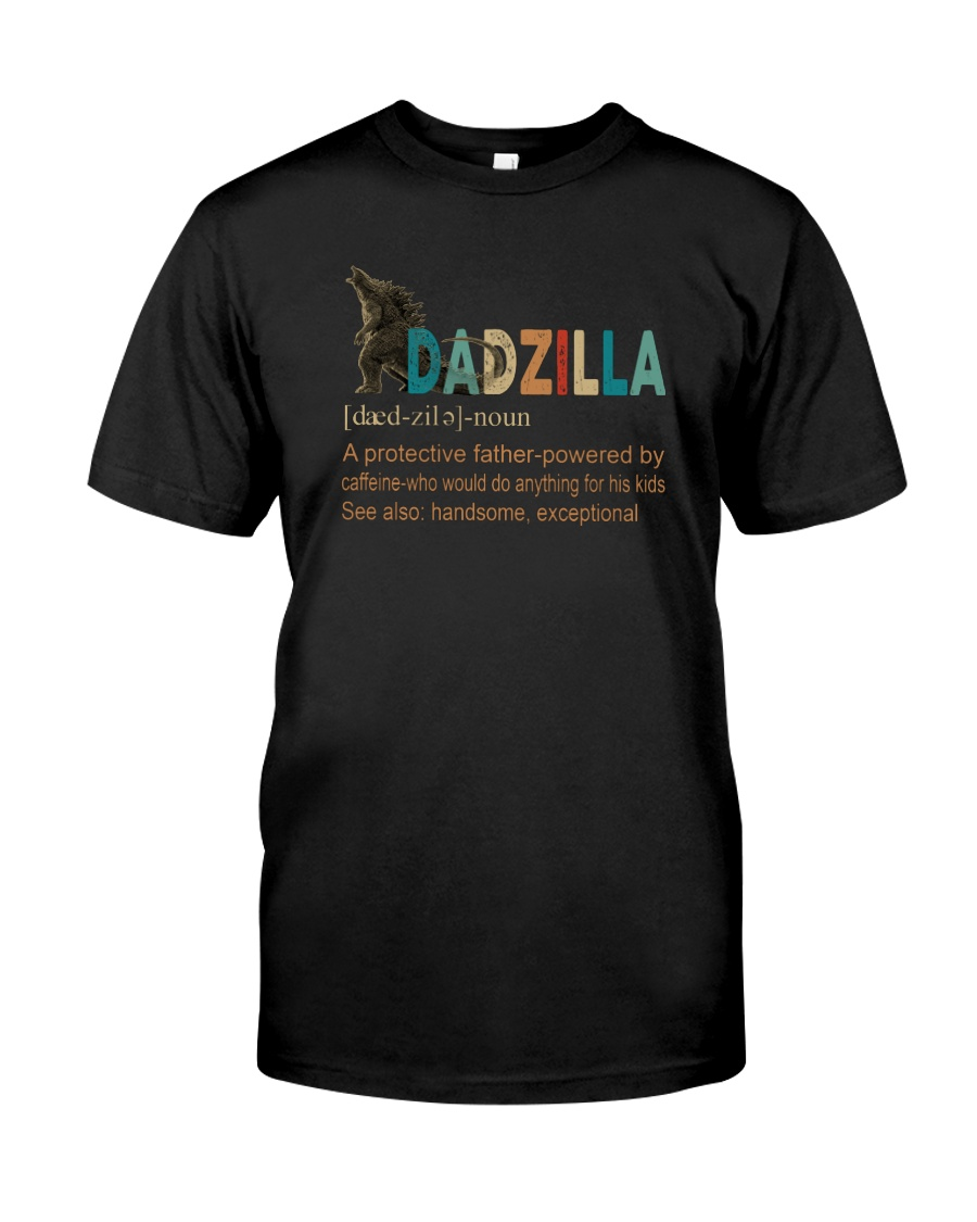 DADZILLA NOUN Classic T-Shirt