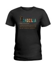 DADZILLA NOUN Ladies T-Shirt thumbnail