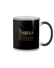 DADZILLA NOUN Color Changing Mug thumbnail