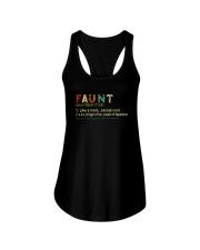 FAUNT NOUN Ladies Flowy Tank thumbnail