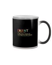 FAUNT NOUN Color Changing Mug thumbnail