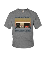 NEVER FORGET THE FIRST TIME Youth T-Shirt thumbnail