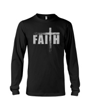 FAITH CROSS JESUS Long Sleeve Tee thumbnail