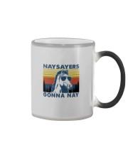 NAYSAYERS GONNA NAY Color Changing Mug thumbnail