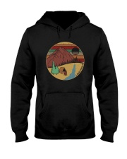 I HATE PEOPLE FUNNY CAMPING QUOTE FOR CAMPER Hooded Sweatshirt thumbnail