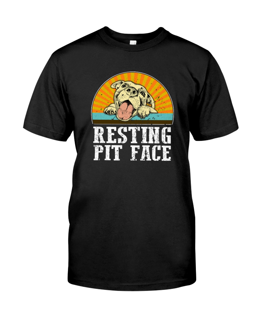 RESTING PIT FACE Classic T-Shirt