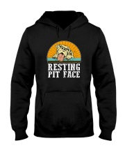 RESTING PIT FACE Hooded Sweatshirt thumbnail