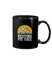 RESTING PIT FACE Mug thumbnail
