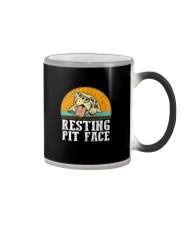 RESTING PIT FACE Color Changing Mug thumbnail