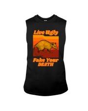 LIVEUGLY FAKE YOUR DEATH Sleeveless Tee thumbnail