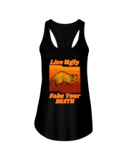LIVEUGLY FAKE YOUR DEATH Ladies Flowy Tank thumbnail
