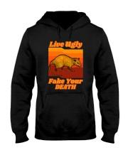 LIVEUGLY FAKE YOUR DEATH Hooded Sweatshirt thumbnail
