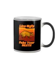 LIVEUGLY FAKE YOUR DEATH Color Changing Mug thumbnail