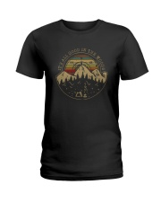 IT'S ALL GOOD IN THE WOODS Ladies T-Shirt thumbnail
