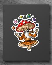 MAGIC MUSHROOMS YOGA Sticker - Single (Vertical) aos-sticker-single-vertical-lifestyle-front-10