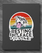 RESTING PIT FACE Sticker - 4 pack (Vertical) aos-sticker-4-pack-vertical-lifestyle-front-10