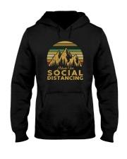MADE FOR SOCIAL DISTANCING Hooded Sweatshirt thumbnail