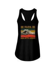 PAPA MAN MYTH LEGEND Ladies Flowy Tank thumbnail