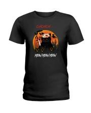 CH CH CH MEOW MEOW MEWO Ladies T-Shirt thumbnail