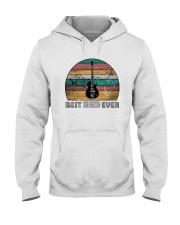 BEST DAD EVER GUITAR MUSIC NOTES Hooded Sweatshirt thumbnail
