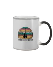 BEST DAD EVER GUITAR MUSIC NOTES Color Changing Mug thumbnail