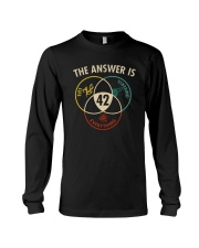 THE ANSWER IS 42 Long Sleeve Tee thumbnail