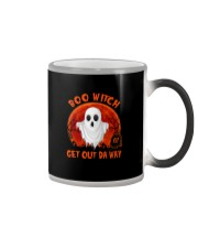 BOO WITCH GET OUT DA WAY Color Changing Mug thumbnail