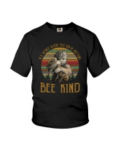 IN A WORLD WHERE YOU CAN BE ANYTHING BEE KIND Youth T-Shirt thumbnail