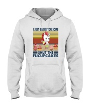 SHUT THE FUCUPCAKES UNICORN BAKING Hooded Sweatshirt thumbnail