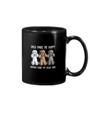 DOGS MAKE ME HAPPY HUMANS MAKE MY HEAD HURT Mug thumbnail