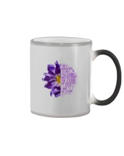 I Am The Storm Purple Anemone Flower Color Changing Mug thumbnail