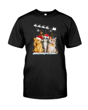 CHRISTMAS CATS Classic T-Shirt front