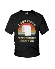 I SURVIVED THE GREAT TOILET PAPER SHORTAGE  Youth T-Shirt thumbnail