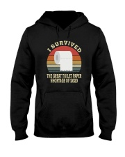 I SURVIVED THE GREAT TOILET PAPER SHORTAGE  Hooded Sweatshirt thumbnail