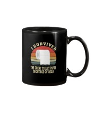 I SURVIVED THE GREAT TOILET PAPER SHORTAGE  Mug thumbnail
